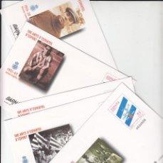 Sellos: 5 SOBRES ENTERO POSTALES NUM. 59 BARNAFIL 2000 -100 ANYS RCD. ESPANYOL -. Lote 283159383