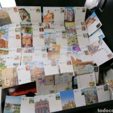 Francobolli: ESPAÑA LOTE 42 ENTEROS POSTALES TODOS DIFERENTES Y EN NUEVO. Lote 210128336