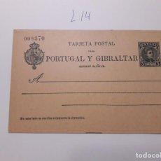 Sellos: SELLOS ESPAÑA AÑO 1903 ENTERO POSTAL Nº 43 VALOR CAT. 45 €. Lote 210131848