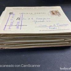 Sellos: LOTE DE 80 ENTERO POSTALES. ESPAÑA. VER TODAS LAS FOTOS. Lote 210819017