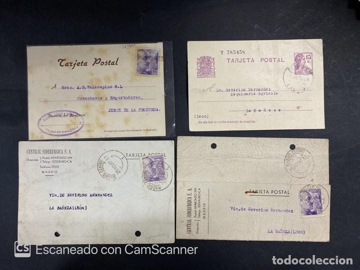 Sellos: LOTE DE 80 ENTERO POSTALES. ESPAÑA. VER TODAS LAS FOTOS - Foto 13 - 210819017