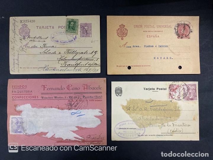 Sellos: LOTE DE 80 ENTERO POSTALES. ESPAÑA. VER TODAS LAS FOTOS - Foto 43 - 210819017