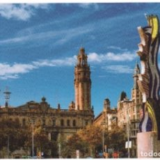 Sellos: BARCELONA. VISTA DEL EDIFICIO DE CORREOS. 3 TARJETAS PREFRANQUEADAS ESPAÑA. TARIFAS A-B-C.. Lote 211790372