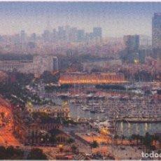 Sellos: BARCELONA. VISTA DEL PUERTO. 3 TARJETAS PREFRANQUEADAS ESPAÑA. ENTERO POSTAL. TARIFAS A-B-C.. Lote 211790686