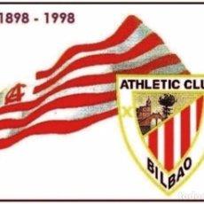 Sellos: CLUB ATLETIC DE BILBAO. 3 TARJETAS PREFRANQUEADAS ESPAÑA. TARIFAS A, B Y C. ENTERO POSTAL. Lote 211793753