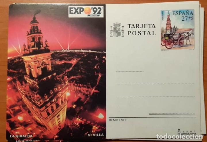ENTERO POSTAL AÑO 1992. EDIFIL 154 (Sellos - España - Entero Postales)