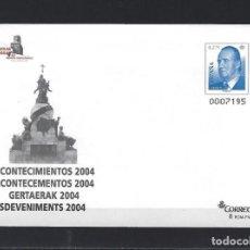 Sellos: SEP 94 ENTERO POSTAL EXFILNA 2004 ACONTECIMIENTOS VALLADOLID BUEN ESTADO. Lote 297153788
