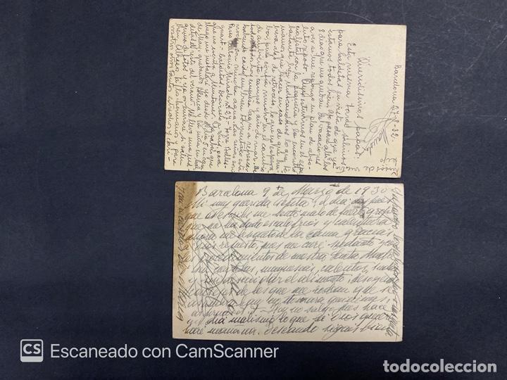 Sellos: LOTE DE 14 ENTERO POSTALES DE LA REPUBLICA Y ALFONSO CON DOBLE FRANQUEO. VER FOTOS - Foto 9 - 216434361