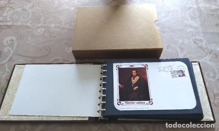 Sellos: Coleccion 424 tarjetas 1er dia. 11 Tomos apunte Lit. Filat. Ilustrado 28.02.1978 a 29.12. 1987 - Foto 3 - 217860816