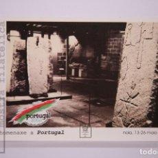Timbres: TARJETA ENTERO POSTAL:HOMENAJE A PORTUGAL, NOIA 13-26,MAIO 2002,TARIFA A SIN CIRCULAR. Lote 218695786