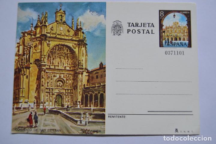 TARJETA POSTAL. CONVENTO DE SAN ESTEBAN. SALMANCA. (Sellos - España - Entero Postales)