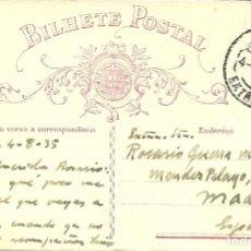 Francobolli: TARJETA ENTERO POSTAL DE PORTUGAL DEL AÑO 1935. Lote 226681195
