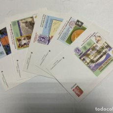 Sellos: LOTE DE 5 SOBRES. FERIA Y EXPOSICION FILATÉLICA. VALENCIA 2000. VER FOTOS. Lote 229510335
