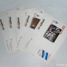 Sellos: LOTE DE 5 SOBRES. 100 ANYS D'ESPANYOL D'ESPORT. BARNA FIL 2000. VER FOTOS. Lote 229510760