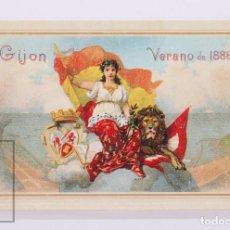 Selos: TARJETA ENTERO POSTAL:I CONVENCIÓN ITINERANTE DE ANFIL TARIFA NACIONAL Nº 33-3 EDIFIL Nº,77 GIJON. Lote 231098395
