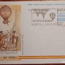Timbres: AEROGRAMA ESPAÑA 1992. Lote 233033705