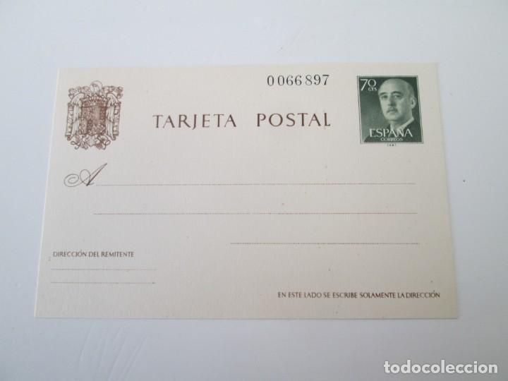 ER * ENTERO POSTAL FRANQUEO 70 CTS FRANCO TARJETA POSTAL SIN CIRCULAR (Sellos - España - Entero Postales)