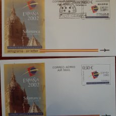 Selos: AERÓDROMOS ESPAÑA 2002. Lote 235796415