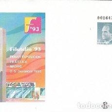 Sellos: SOBRE ENTERO POSTAL EDIFIL Nº 21, FILATELIA'93, SIN USAR. Lote 236601100