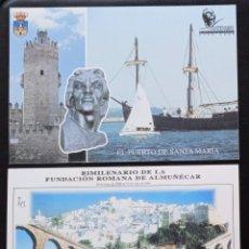 Timbres: 2 TARJETAS DE CORREOS - DEL AÑO 2000 Y 2001 EDIFIL Nº 73 + 75 - VER 2 FOTOS. Lote 242935065