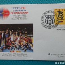 Sellos: 1999-SOBRES ENTERO POSTAL-Nº52-EXPO.FILATELICA CENTENARIO DEL F.C.BARCELON A(SERIE COMPLETA. Lote 244542375