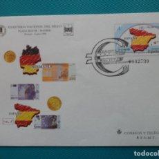 Sellos: 1999-SOBRES ENTERO POSTAL-Nº54-XXXI FERIA NACIONAL DEL SELLO-MADRID-SERIE COMPLETA(5 SOBRES). Lote 244544775