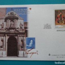 Sellos: 1999-SOBRES ENTERO POSTAL-Nº55 Y 56-IV CENTENARIO DEL NACIMIENTO DE VELAZQUEZ-SERIE COMPLETA-5 SOBRE. Lote 244546170