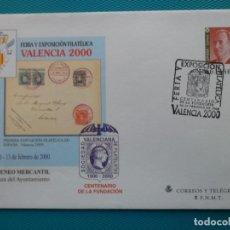 Sellos: 1999-SOBRES ENTERO POSTAL-Nº58-EXPO.FILATELICA-VALENCIA 2000-SERIE COMPLETA(5 SOBRES). Lote 244555805