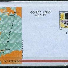 """Sellos: AEROGRAMA VUELOS DEL """"CUATRO VIENTOS"""" REF: EDIFIL 203. Lote 251841350"""