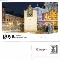 Selos: ESPAÑA. TARJETA PREFRANQUEADA. FRANCISCO DE GOYA. Lote 252049215