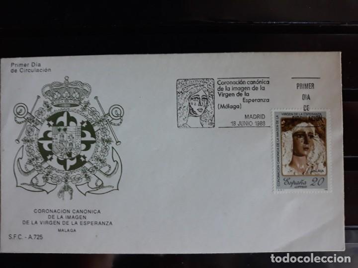 SOBRE PRIMER DIA SPD EDIFIL 2954 ESPAÑA 1988 (Sellos - España - Entero Postales)