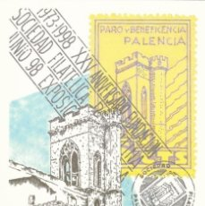 Francobolli: 1998-Nº43-LA TARJETA DEL CORREO-EXPO.PALENCIA-TARIFA -A. Lote 254497045