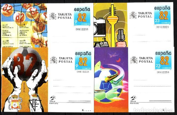 ENTEROS POSTALES DE ESPAÑA - AÑO 1982-, (Sellos - España - Entero Postales)