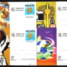 Sellos: ENTEROS POSTALES DE ESPAÑA - AÑO 1982-,. Lote 261573860