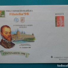 Selos: 1998-ESPAÑA-Nº50 Y Nº 51-SOBRES-ENTEROS POSTALES-LOTE COMPLETO(2 SOBRES). Lote 263026155