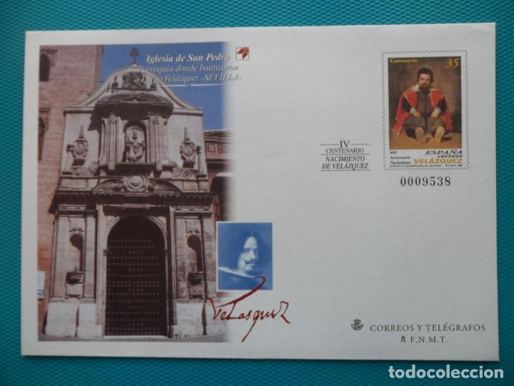 1999-ESPAÑA-Nº55/6-SOBRES-ENTEROS POSTALES-LOTE COMPLETO-(5 SOBRES) (Sellos - España - Entero Postales)