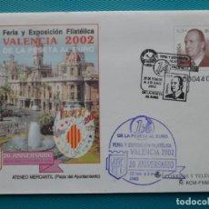 Selos: 2001-ESPAÑA-Nº75-SOBRES-ENTEROS POSTALES-LOTE COMPLETO-(4 SOBRES). Lote 263123820
