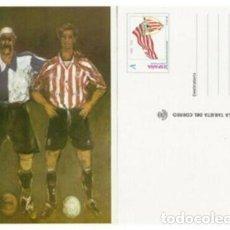 Selos: 1998-Nº41-LA TARJETA DEL CORREO-TARIFA-A-ATHLECIC CLUB BILBAO. Lote 265802654