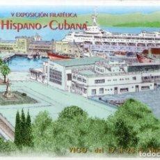 Selos: 1998-Nº39-LA TARJETA DEL CORREO-TARIFA-A-EXPO.HIPANO-CUBANA-VIGO. Lote 265804554