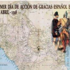 Selos: 1998--Nº40-LA TARJETA DEL CORREO-IV CENTENARIO FUNDACION NUEVO MEXICO-TARIFA-B. Lote 266052583