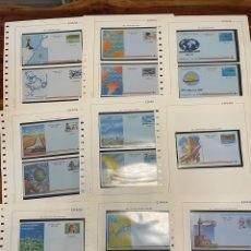 Selos: COLECCIÓN COMPLETA AEROGRAMAS 1981 A 2002. EDIFIL 201 A 225. Lote 267343804