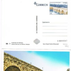 Sellos: TARJETA DEL CORREO 06 - 1, EDIFIL Nº 4819, PUENTE ROMANO DE MERIDA (BADAJOZ), SIN USAR. Lote 273135188