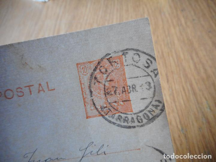 Sellos: ANTIGUA TARJETA POSTAL.JUAN PIQUER.SEMINARIO.TORTOSA TARRAGONA 1913 - Foto 2 - 275957303