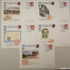 Francobolli: SOBRES ENTERO POSTALES FILATELIA 99 MATASELLADOS. Lote 276253978
