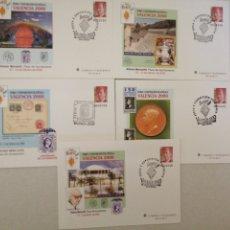 Francobolli: SOBRES ENTERO POSTALES VALENCIA 2000 MATASELLADOS. Lote 276254258