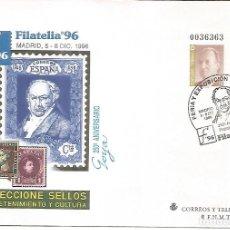 Sellos: ENTERO POSTAL FILATELIA 96 GOYA ARTE PINTURA. Lote 276729428