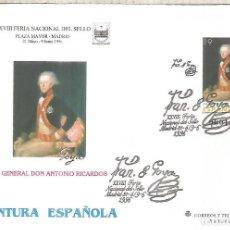 Sellos: ENTERO POSTAL PINTURA GOYA ARTE PINTURA. Lote 276729558