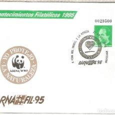 Sellos: ENTERO POSTAL BARNAFIL 95 WWF OSO PANDA. Lote 276729688