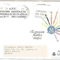 Sellos: ENTERO POSTA EXPOSICION FILATELICA EUROPEA. Lote 276730358