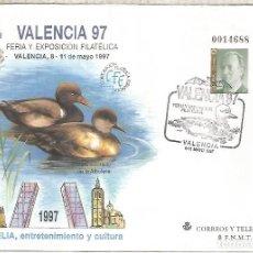 Sellos: ENTERO POSTAL VALENCIA 97 PATO COLORADO DUCK AVE. Lote 276730558